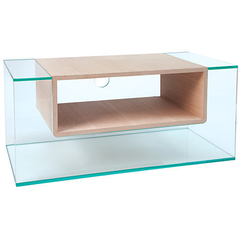 "Buy Greenapple GL59403 Cliff Television Stand for up to 42"" TVs, Oak Online at johnlewis.com"