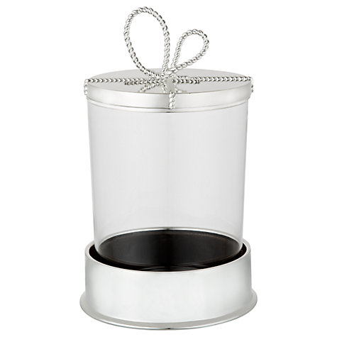 Buy Vera Wang for Wedgwood Love Knots Covered Candle Online at johnlewis.com