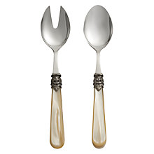 Buy John Lewis Vintage Ivory Salad Servers Online at johnlewis.com