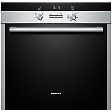 Buy Siemens HB43AB550B Single Electric Oven, Stainless Steel Online at johnlewis.com