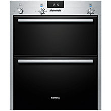 Buy Siemens HB13NB521B Double Electric Oven, Stainless Steel Online at johnlewis.com