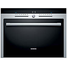 Buy Siemens HF35M562B Built-in Microwave, Stainless Steel Online at johnlewis.com