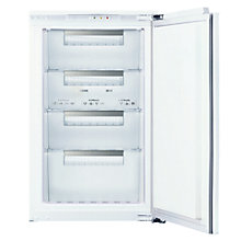 Buy Siemens GI18DA50GB Integrated Freezer, A+ Energy Rating, 54cm Wide, White Online at johnlewis.com