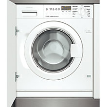 Buy Siemens WI14S440GB Integrated Washing Machine, 7kg Load, A Energy Rating, 1400rpm Spin Online at johnlewis.com