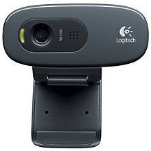 Buy Logitech C270 HD Webcam Online at johnlewis.com