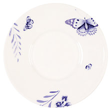 Buy Wedgwood Jasper Conran Blue Butterfly, Espresso Saucer Online at johnlewis.com
