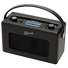 Buy ROBERTS Revival iStream Internet DAB Radio, Black Online at johnlewis.com