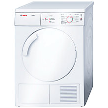 Buy Bosch WTV74105 Sensor Vented Tumble Dryer, 7kg Load, C Energy Rating, White Online at johnlewis.com