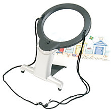 Buy Two-in-One Illuminated Hands-Free Magnifier Online at johnlewis.com
