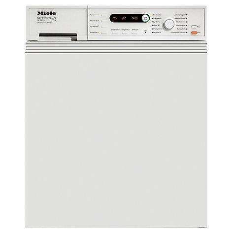 Buy Miele W2819i Semi-Integrated Washing Machine, 5.5kg Load, A+++ Energy Rating, 1400rpm Spin, White Online at johnlewis.com