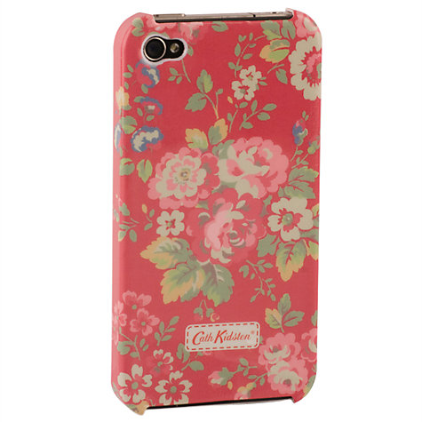 Buy Cath Kidston Spray Red Case for iPhone 4 & 4S Online at johnlewis.com