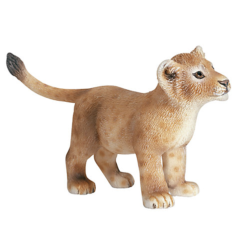 Buy Schleich Wild Animals: Lion Cub Online at johnlewis.com