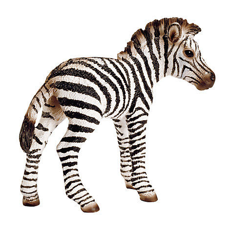 Buy Schleich Wild Animals: Zebra Foal Online at johnlewis.com
