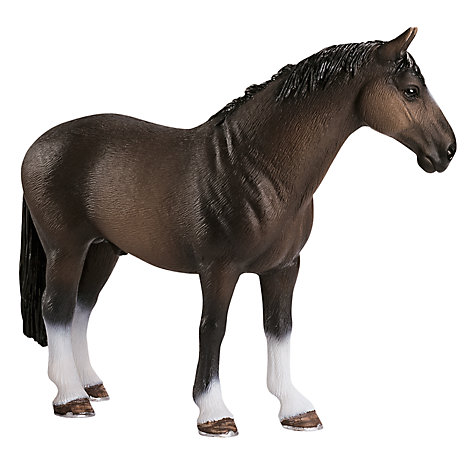Buy Schleich Farm Life: Hanoverian Stallion Online at johnlewis.com