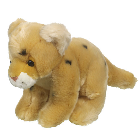 Buy John Lewis Baby Cheetah Soft Toy Online at johnlewis.com