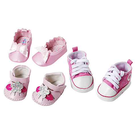 Buy Baby Born Pair of Shoes, Assorted Online at johnlewis.com