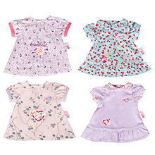 Buy My Little Baby Born Dress, Assorted Online at johnlewis.com