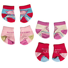Buy Baby Annabell Pair of Socks, Assorted Online at johnlewis.com