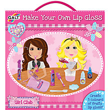 Buy Galt Make Your Own Lip Gloss Kit Online at johnlewis.com