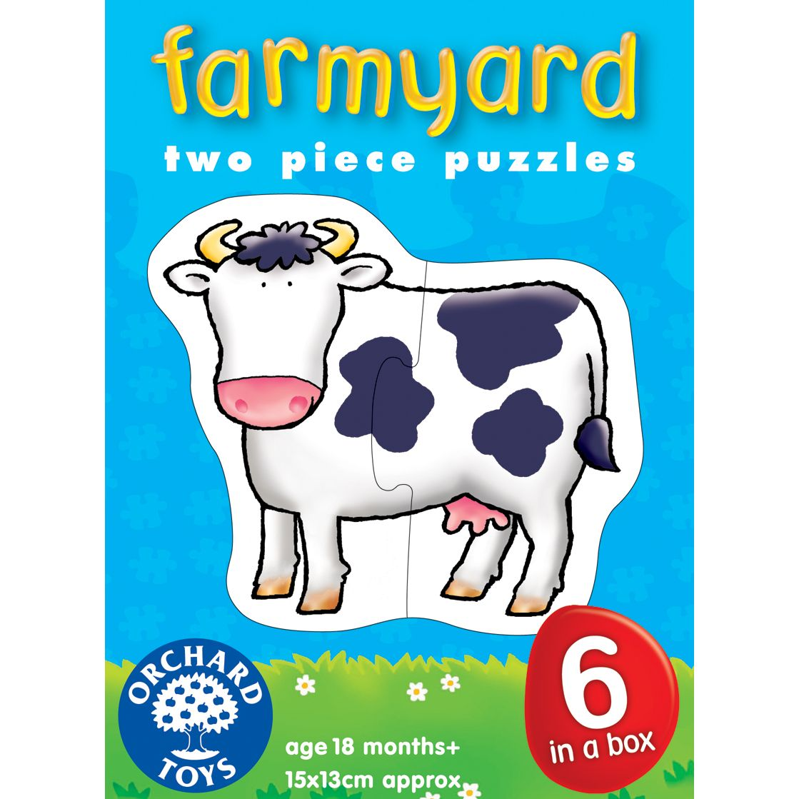 Orchard Toys Farmyard Jigsaw Puzzles, Pack Of 6