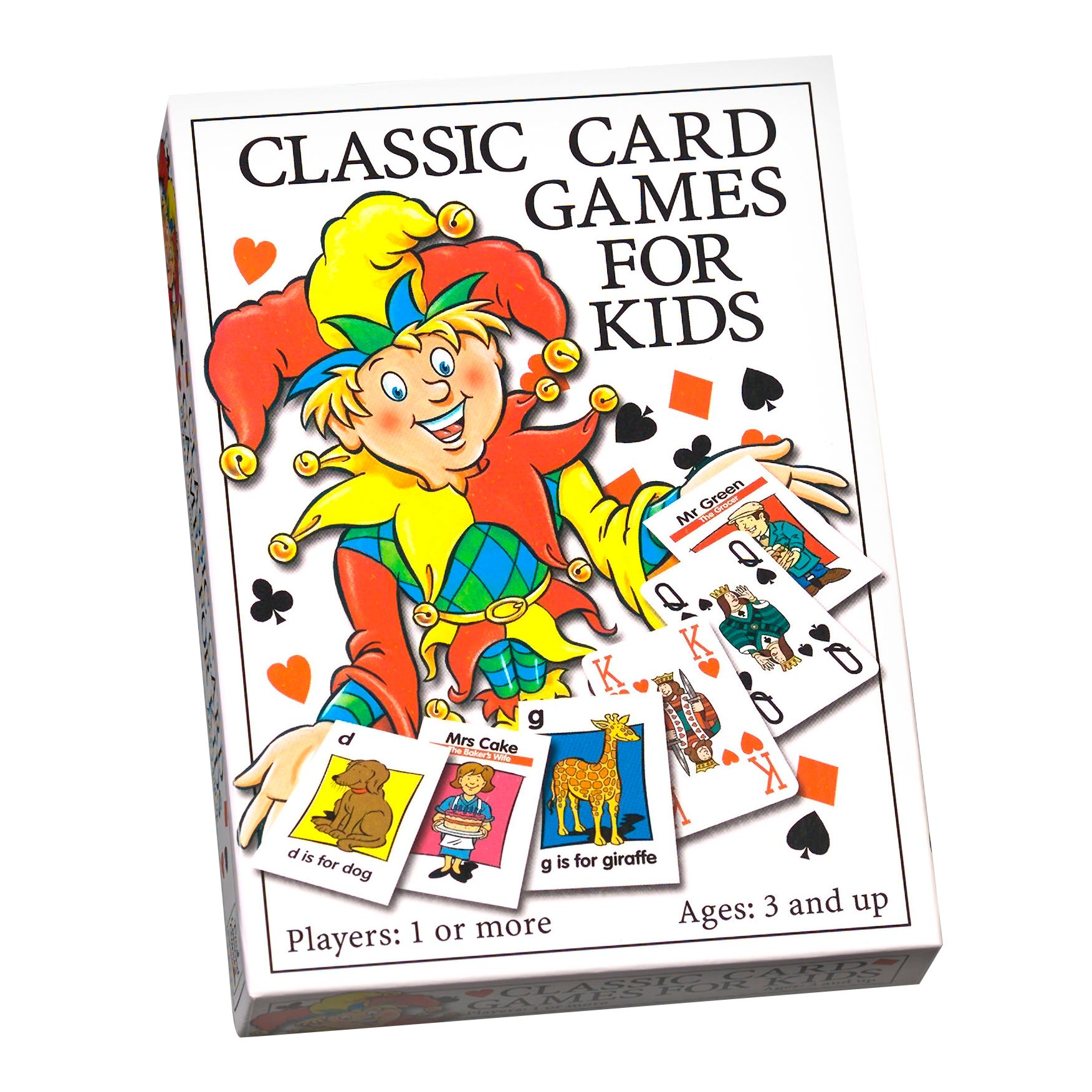 Paul Lamond Games Classic Card Games for Kids