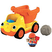 Buy Fisher-Price Little People Dump Truck Online at johnlewis.com
