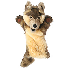 Buy The Puppet Company: Wolf Hand Puppet Online at johnlewis.com