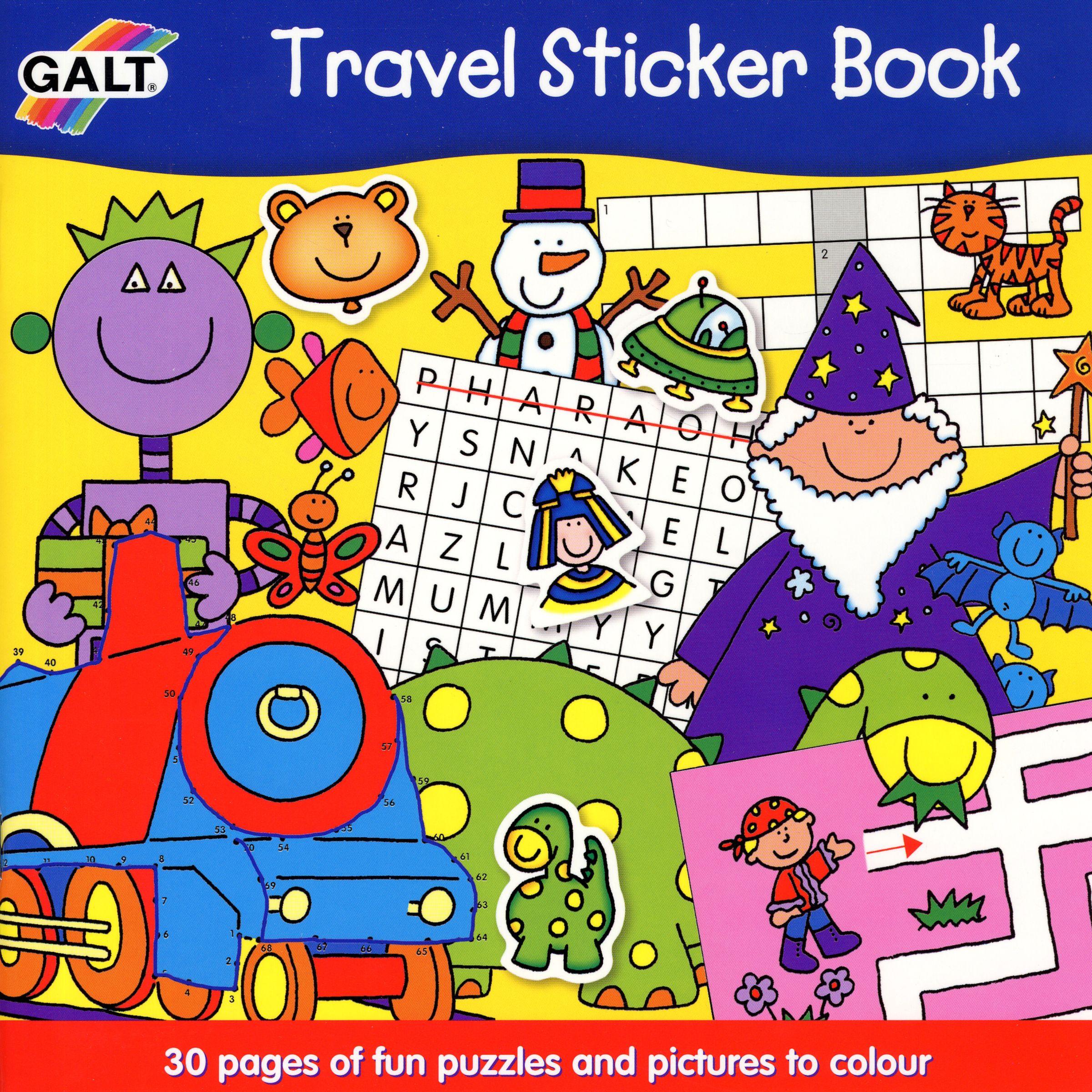 Groves Galt Travel Sticker Book