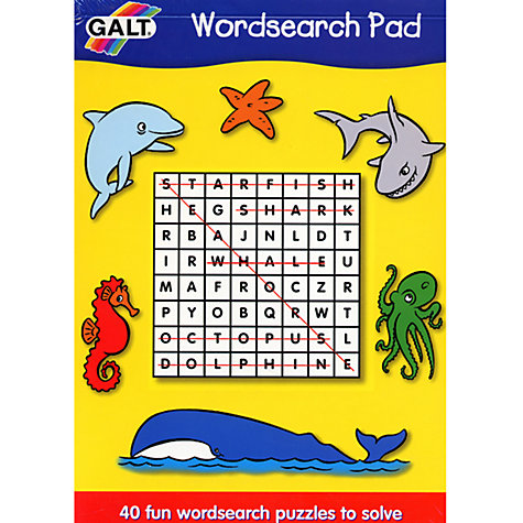 Buy Galt Word Search Pad Online at johnlewis.com