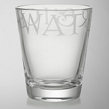 Buy Emma Bridgewater Black Toast Glassware, Tumbler Online at johnlewis.com