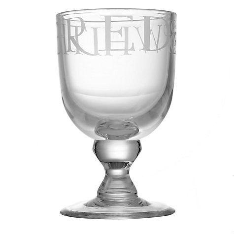 Buy Emma Bridgewater Black Toast Wine Glass Online at johnlewis.com