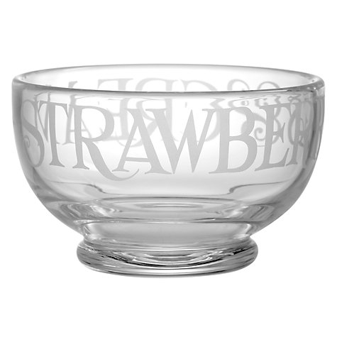 Buy Emma Bridgewater Black Toast Glassware, Dessert Bowl Online at johnlewis.com