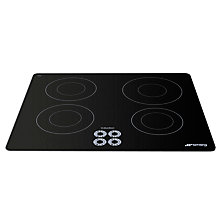 Buy Smeg SI644D Marc Newson Ceramic Induction Hob, Grafica Grigia Online at johnlewis.com