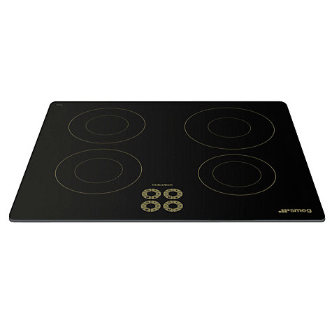 Buy Smeg SI644DO Marc Newson Ceramic Induction Hob, Grafica Oro Online at johnlewis.com
