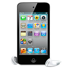 Buy Apple iPod touch, 32GB, Black Online at johnlewis.com