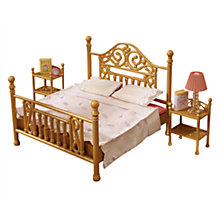 Buy Sylvanian Families Luxury Brass Bed Set Online at johnlewis.com