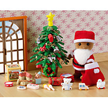 Buy Sylvanian Families Father Christmas and Tree Set Online at johnlewis.com
