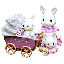 Buy Sylvanian Families Connor & Kerri's New Pram Online at johnlewis.com