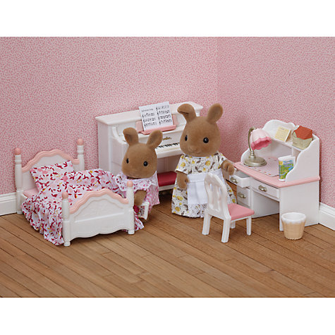 Buy Sylvanian Families Girl's Bedroom Set Online at johnlewis.com