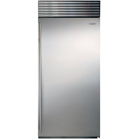 Buy Sub-Zero ICBBI36F/S/TH/RH Freezer, A+ Energy Rating, 91cm Wide, Stainless Steel Online at johnlewis.com