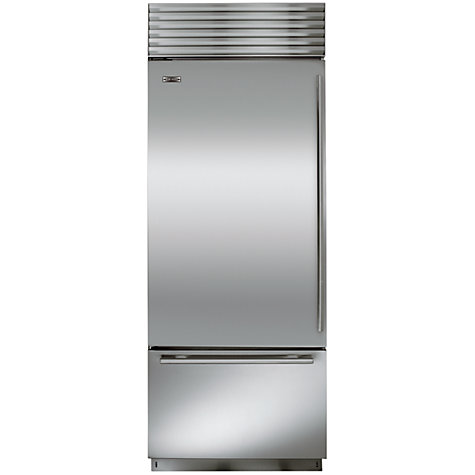 Buy Sub-Zero ICBBI30U/S/TH/LH Fridge Freezer, Stainless Steel Online at johnlewis.com