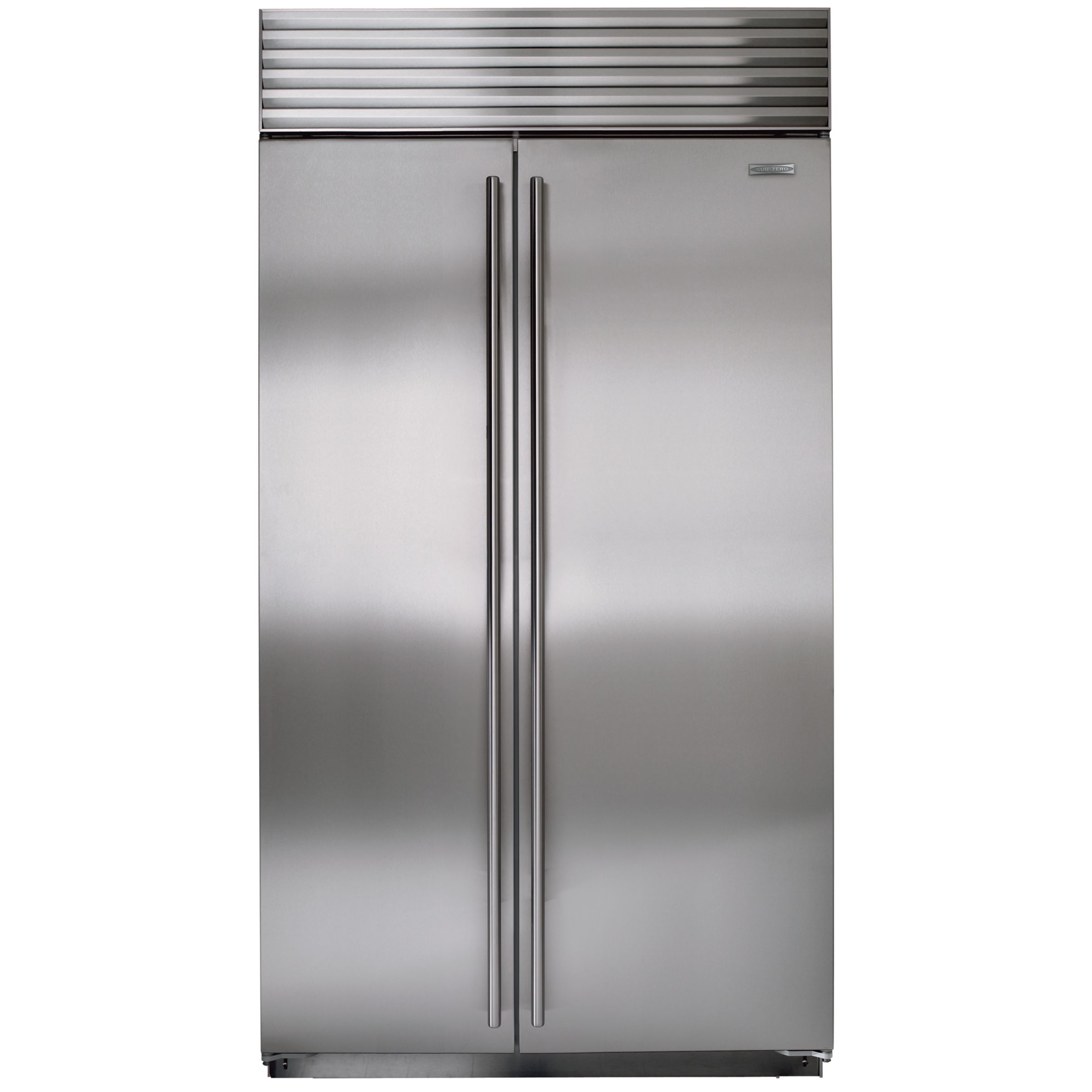 Sub-Zero Sub-Zero ICBBI42S/S/TH Integrated Side by Side Fridge Freezer, Stainless Steel