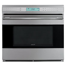 Buy Wolf ICBSO30-2U/S-TH Single Electric Oven, Stainless Steel Online at johnlewis.com