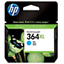 HP 364XL Printer Cartridge, Cyan, CB324EE