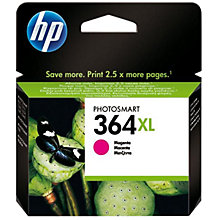 Buy HP 364XL Printer Cartridge, Magenta, CB324EE Online at johnlewis.com