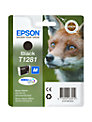 Epson T1281 Fox Inkjet Printer Cartridge, Black