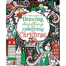 Buy The Usborne Book of Drawing, Doodling & Colouring for Christmas Online at johnlewis.com