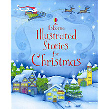 Buy Usborne Illustrated Stories for Christmas Online at johnlewis.com