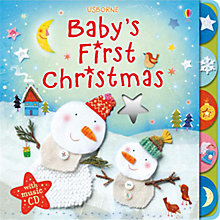 Buy Baby's First Christmas With Music CD Online at johnlewis.com