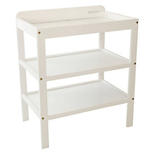 Buy John Lewis Changing Table, White Online at johnlewis.com